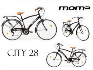bicicleta hibrida moma CITY 28